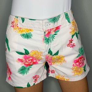 Floral cotton short!